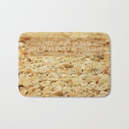 In every grain of sand Bath Mat