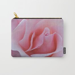 Rose Petal Pink Carry-All Pouch