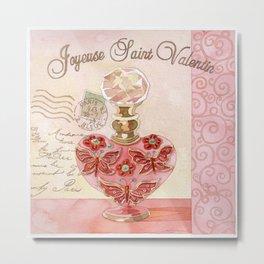 Joyeuse Saint Valentin2 Metal Print
