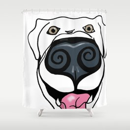 Any Dog Shower Curtain
