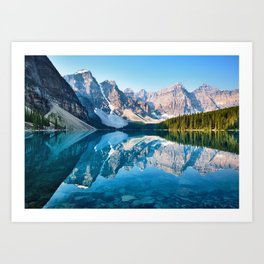 Moraine Lake, Canada #buyart #society6 Art Print