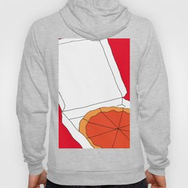 Hot Pizza Box Hoody