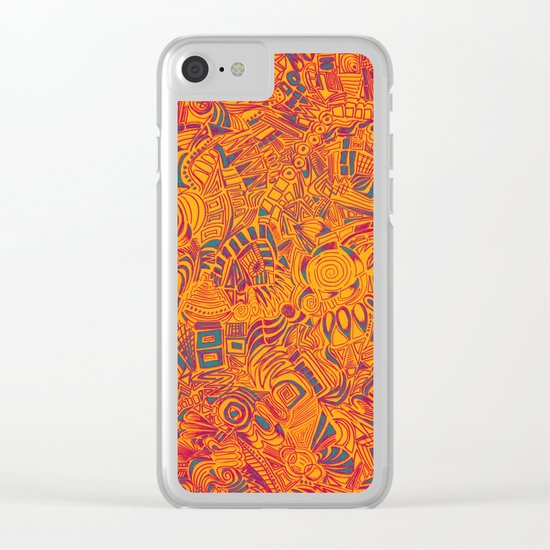 Flavor Clear iPhone Case