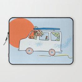 Happy Little Surf Van Laptop Sleeve