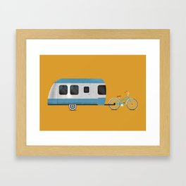 Road Trippin' Framed Art Print