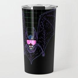 Neon Bat Travel Mug