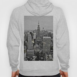 New York by night - Aeriel view of New York City Hoody