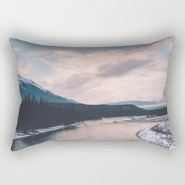 Icefields Parkway, AB III Rectangular Pillow