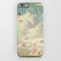 Fantastic country in the sky iPhone 6s Slim Case
