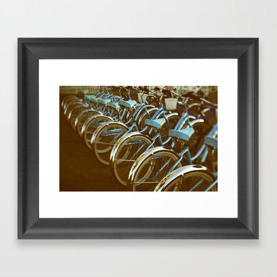 Cycle #3 Framed Art Print