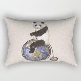 Penny Makes the World Go Around Rectangular Pillow