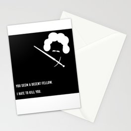 You Seem A Decent Fellow Stationery Cards