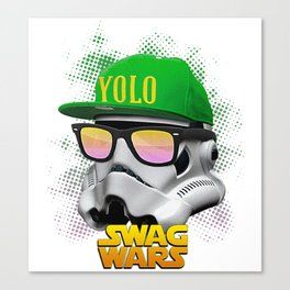 Stormtrooper Swag Canvas Print