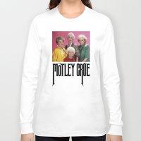 golden girls Long Sleeve T-shirts featuring Golden Girls! Girls! Girls! by hellosailortees