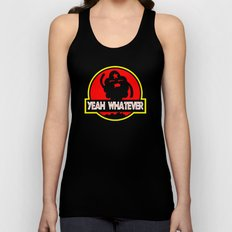 Adventure Time: Yeah, whatever: Jurassic LSP Unisex Tank Top