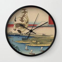 Kōnodai tonegawa Appa Wall Clock