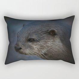 Small Clawed Otter Rectangular Pillow