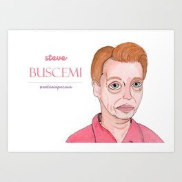 Buscemi being lovely Art Print