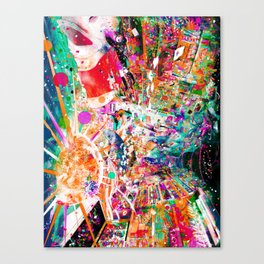 Psychedelic World Canvas Print