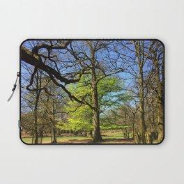 Spring Trees in Dunham Massey Park, England Laptop Sleeve