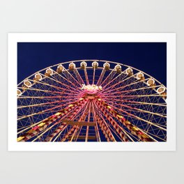Ferris Wheel. Art Print
