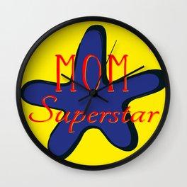 MOM Superstar Wall Clock