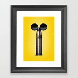 Mickey Missile Framed Art Print