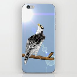 Keep your chin up! iPhone Skin