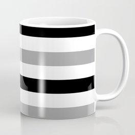 Grey and black chic Coffee Mug