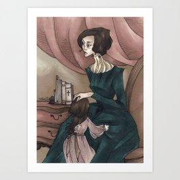 Victorian Mother Art Print