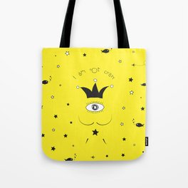 DALI IS NOT CRAZY Tote Bag