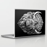 bison Laptop & iPad Skins featuring Bison by BIOWORKZ