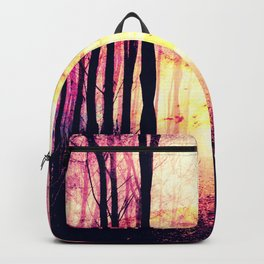 Path to Imagination : Mauve Pink Purple Backpack