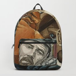Heisenberg and Jesse, oil painting Backpack