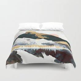 Winters Day Duvet Cover