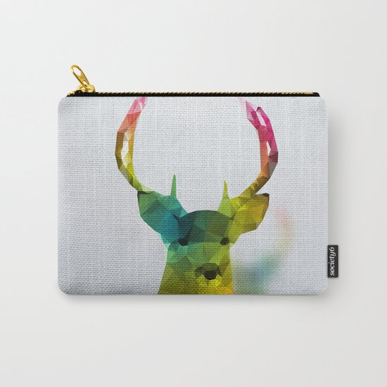 Glass Animal - Deer head Carry-All Pouch