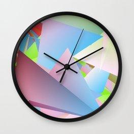 Outdoor Activities 3 Wall Clock