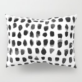 Watercolor Dots Pillow Sham
