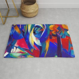 Franz Marc The Mandrill Rug