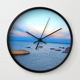Lake Sakakawea Wall Clock