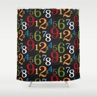 teacher Shower Curtains featuring School teacher #2 by Juliana RW