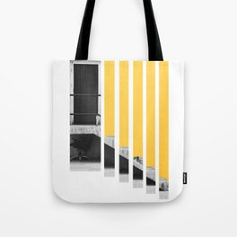 A Splash of Yellow Tote Bag