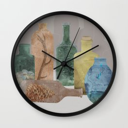 Deconstructed Woods Wall Clock