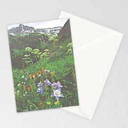 Wildflowers in the San Juan Mountains of Colorado, Stylized Stationery Cards