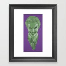The Joker (Color Variant) Framed Art Print