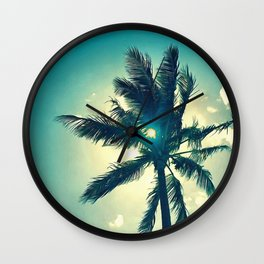 Seventh Palm Wall Clock