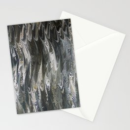 Golden Wings Marbling Stationery Cards
