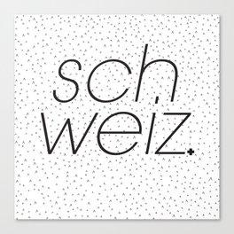 Schweiz  Canvas Print