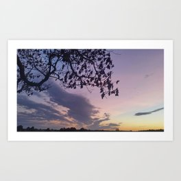 Pastel Sky #4 Art Print
