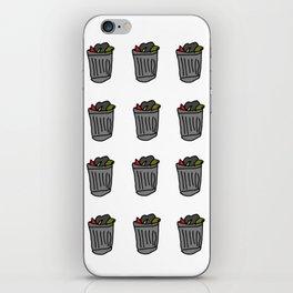 Trash Cans iPhone Skin